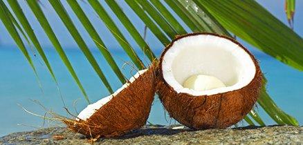 масло для волос кокосовое