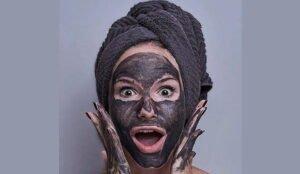 Черная глина для лица